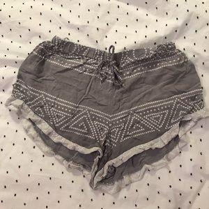 Pajama shorts!
